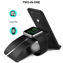 For Apple Watch Ipad Phone 3 In 1 Aluminum Alloy Cradle Holder Charging Stand