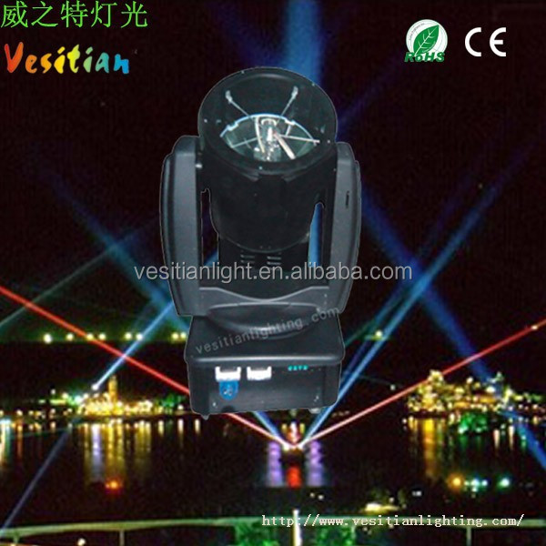 Guangzhou pro lighting 3000w outdoor moving head sky beam searchlight for sale
