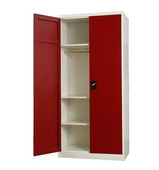 henan godrej steel almirah designs with pricedouble door metal locker fair price furniture wardrobe