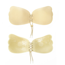 78b20a8a051d4 Fashion Angel Sexy Bra Seamless Strapless Bra Female Must Silicone Push Up  Bra Wire Free Invisible