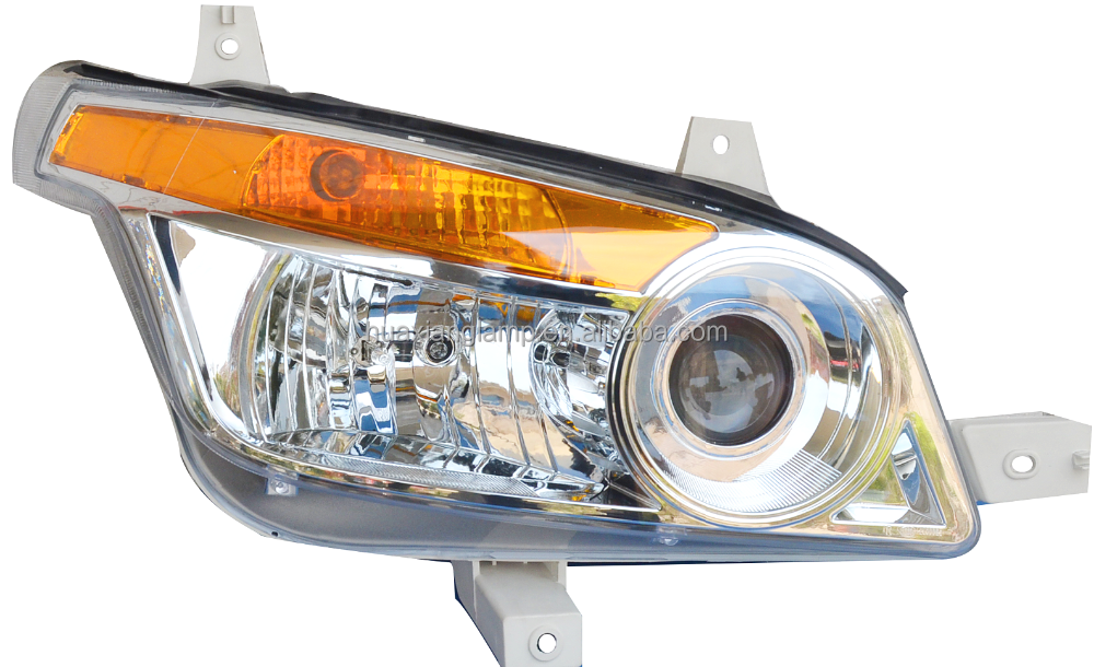New design Dawei combined headlamp for Beiben V3 truck accessory