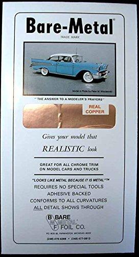 Bare Metal Foil Co 006 6x11 Thin Sheet Copper Foil