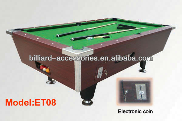 Economic Factory Supply Coin Operated Pool Table
