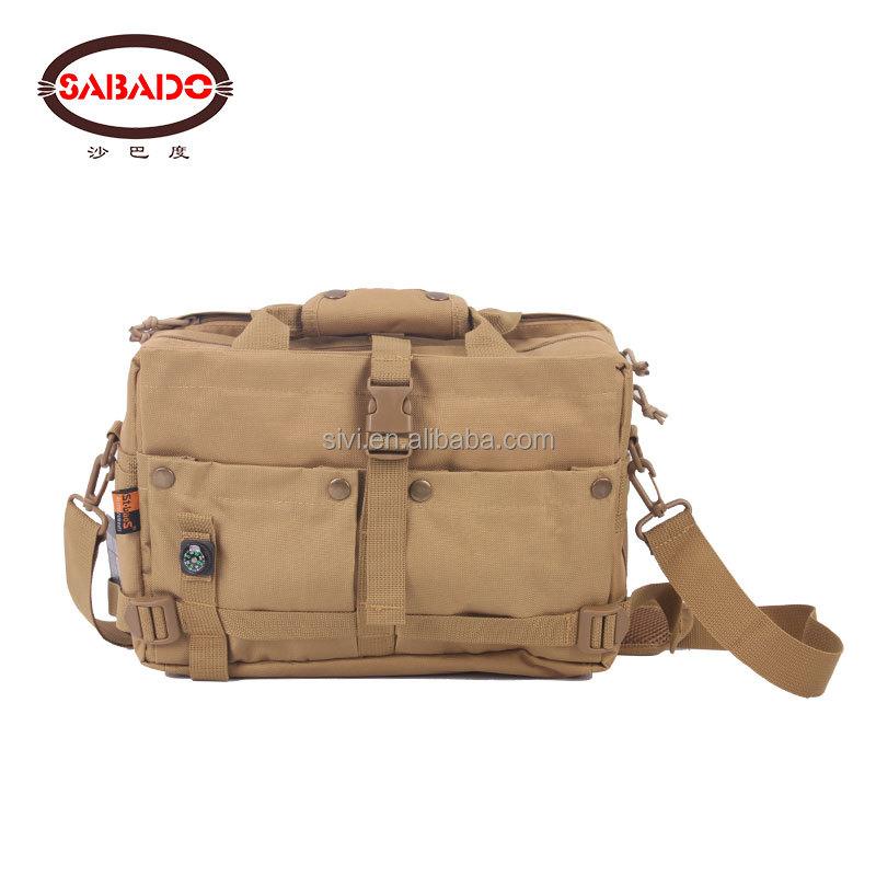 600D Oxford bois loisirs sport sac de taille Ceinture D'épaule caméra pour ordinateur portable sac de voyage hommes sacs à bandoulière