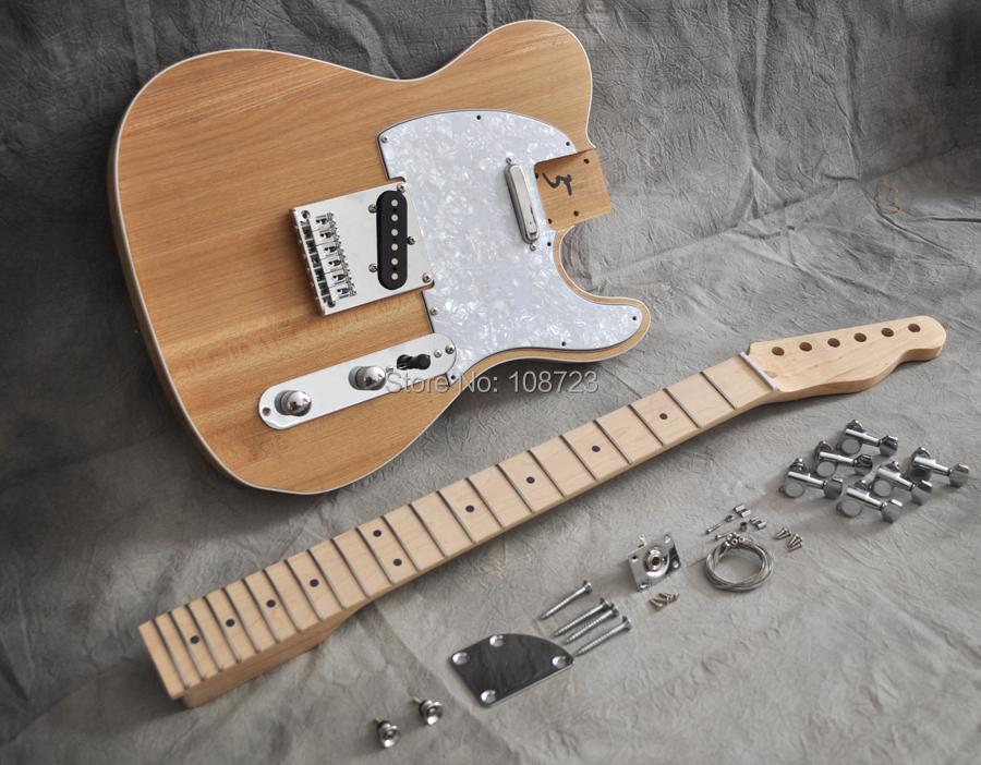 buy diy electric guitar kit vintage style with alder body and maple neck. Black Bedroom Furniture Sets. Home Design Ideas