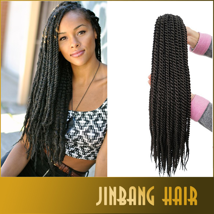 2016 wholesale High quality style braiding synthetic hair senegalese twist hair crochet hair extension