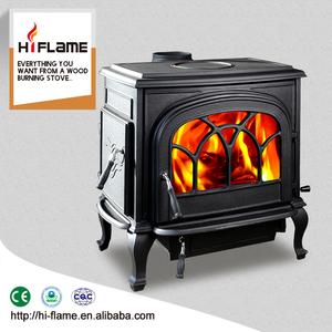 China wholesale antique top or rear flue ceramic optional cast iron wood  stove turkey