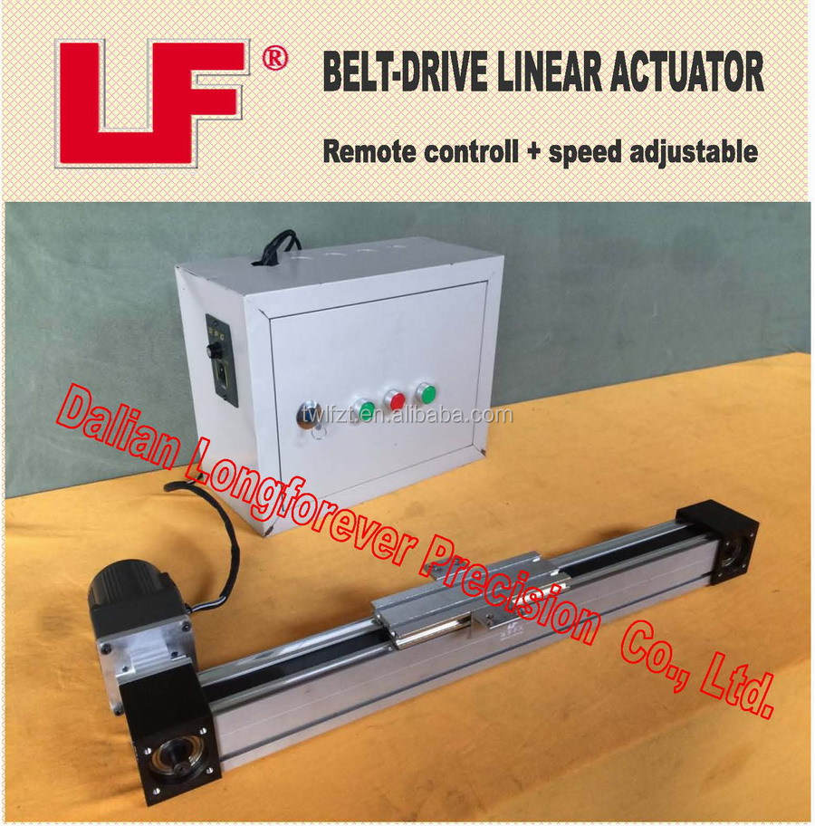 Linear Motion Actuator - Belt Drive Type Nema 57 Speed Adjustable Controll  - Buy Linear Actuator,Motorized Ball Screw Driven Stage,Linear Actuator
