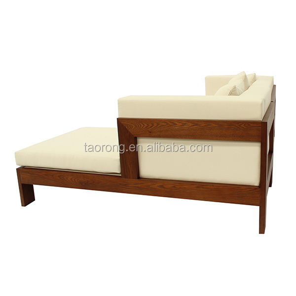 Dise o simple 2 asiento sof cama de madera so 481 sof s for Sofa cama de madera
