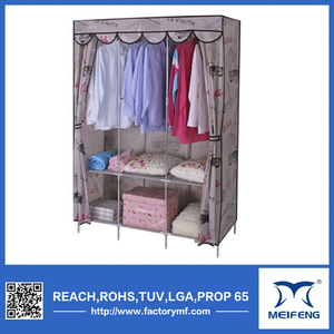 Meifeng factory direct wardrobes bedroom design/closet organizer