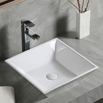 new unique white oem ceramic cupc cheap vanity bathroom