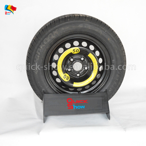 display stand wheels exhibition display for tires shop display for tires