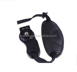 photography accessories black hand grip camera wrist strap leather