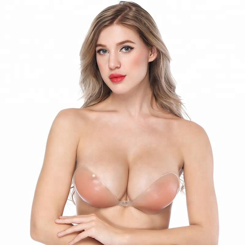 China Wholesale Supplier Backless and Strapless Push up bras ropa interior Prendas de vestir Bra Wholesale фото