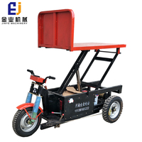 Reliable performance large carrying electric tricycle for brick car