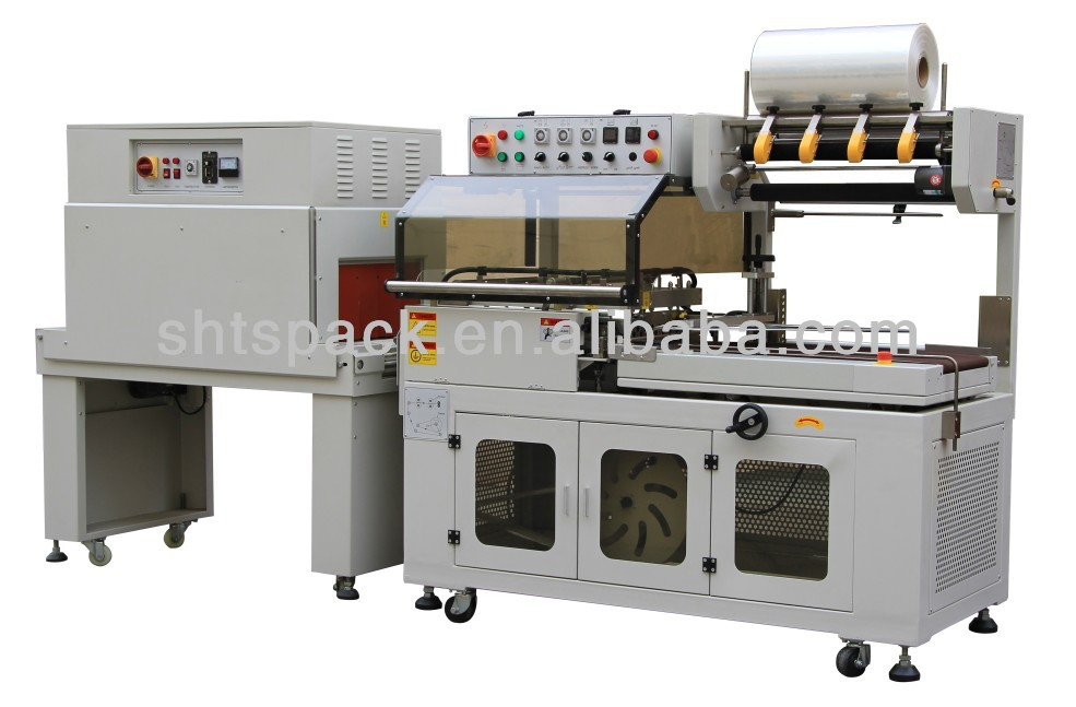 Shanghai Taoshan JT 400LB and JT 4525B automatic heat sealing and shrink packing machine for tea