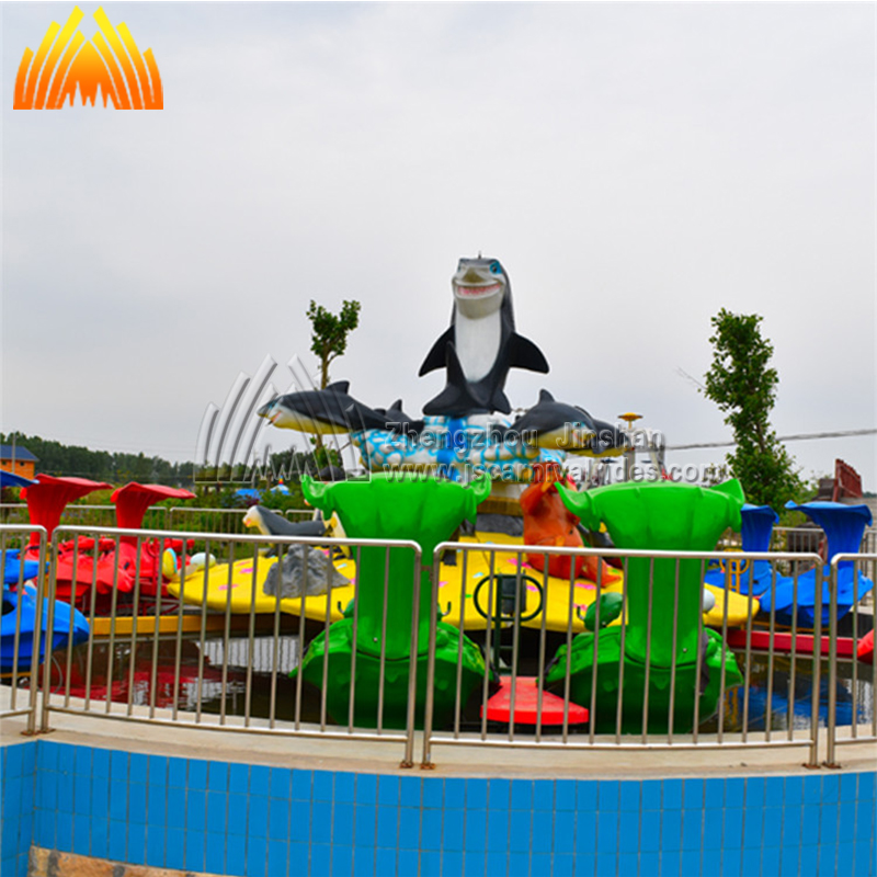 Top manufacturer rotary shark rides island ride for young people sale with factory direct price