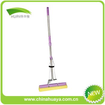 Floor Cleaning Sweep Use Super Clean Sponge Mop