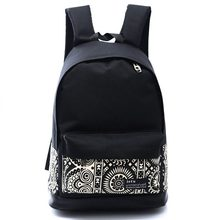 2015 New Chinese style school bags girls&boy canvas backpack men's travel bags women backpacks  YK80-871