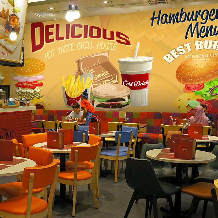 achetez en gros fast food restaurant en ligne des grossistes fast food restaurant chinois. Black Bedroom Furniture Sets. Home Design Ideas