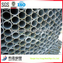 TIANJIN STEEL FACTORY with excellent performance Pre-Galvanized Round steel pipefor