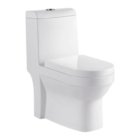Reasonable Price P-Trap Ceramic WC Bathroom Toilet