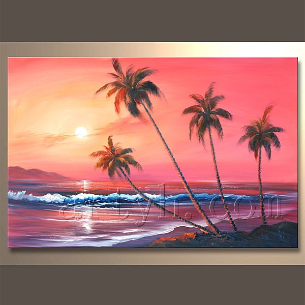Vendita calda handamde paesaggi marini pittura acrilici for Paesaggi marini dipinti