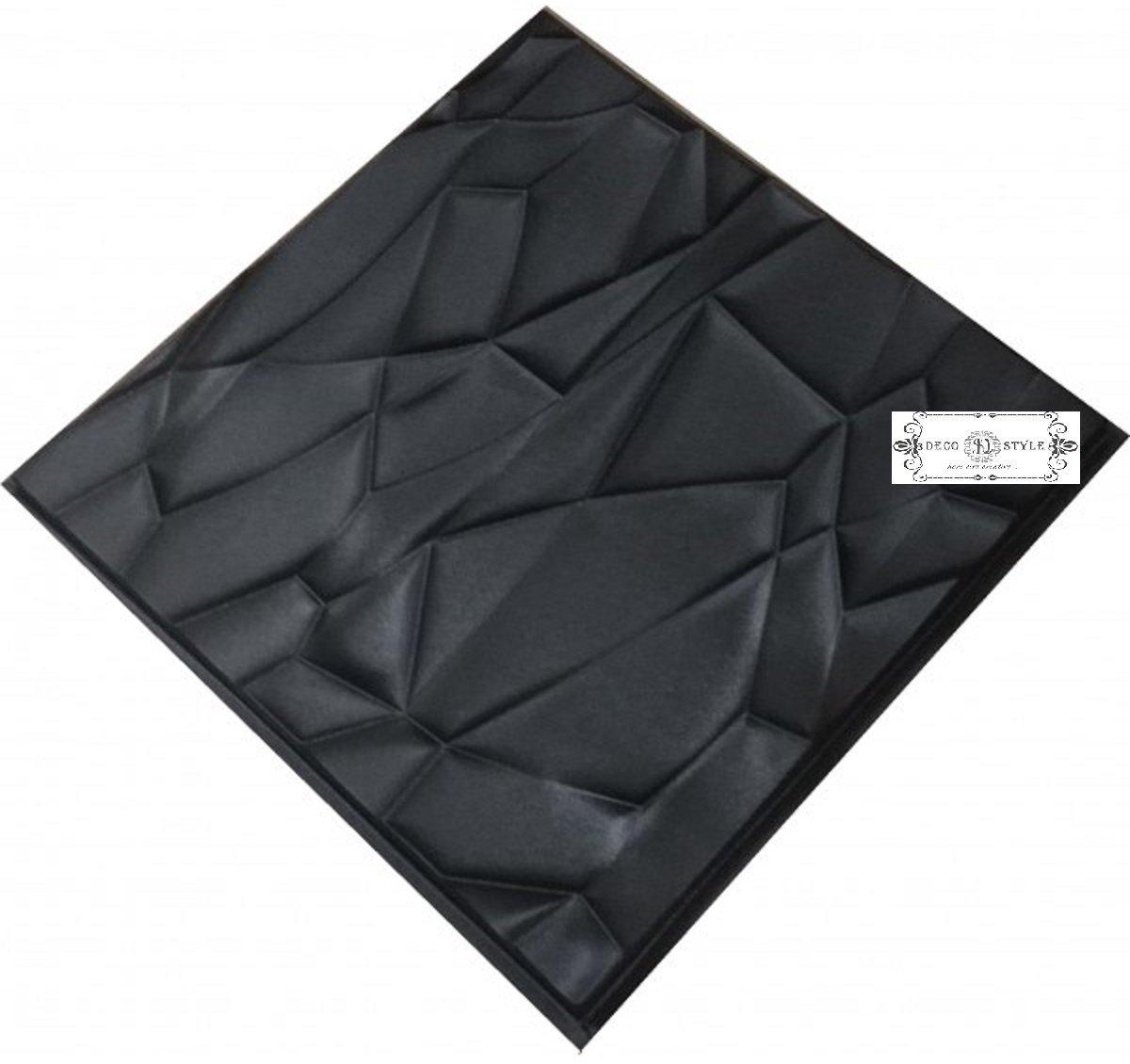 Rock Plastic Molds For 3 D Panels Plaster Wall Stone Form 3D Decor Wall Panels Art Decor Decorative Wall Tile Panels