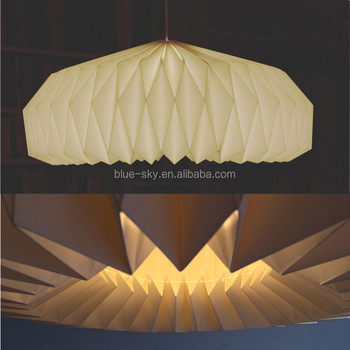 Origami Hanging Diamond Shaped Paper Lampshade Lantern