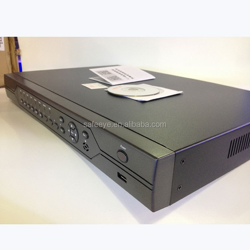SAFEEYE 24CH Network Remote <strong>DVR</strong> H.264 HDMI 2hard h.264 cctv Camera <strong>dvr</strong> system China manufacturer