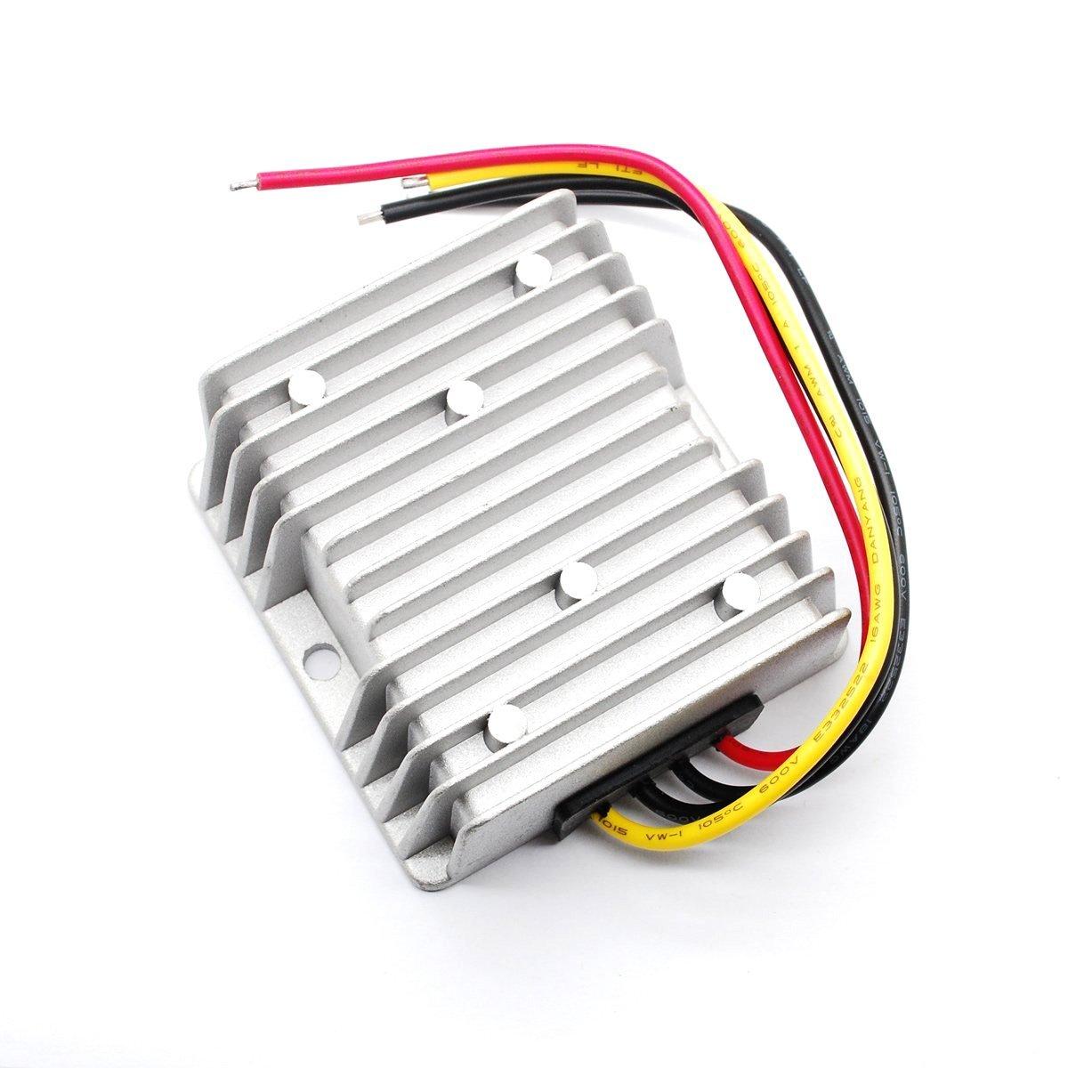 16v-35v NW Waterproof DC DC Step Up Converter 24V to 12V 10A Car Power Supply Voltage Converter Regulator Electronic Transformer