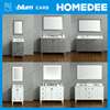 Homedee New design bathroom cabinet cultured marble vanity tops with great price
