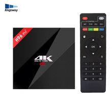H96 Pro+ S912 Android 7.1 Octa Core 2/3Gb Ram 16/32Gb 32Gb Rom Android Tv Box H.265 4K Full Loading H96 Pro Tv Box