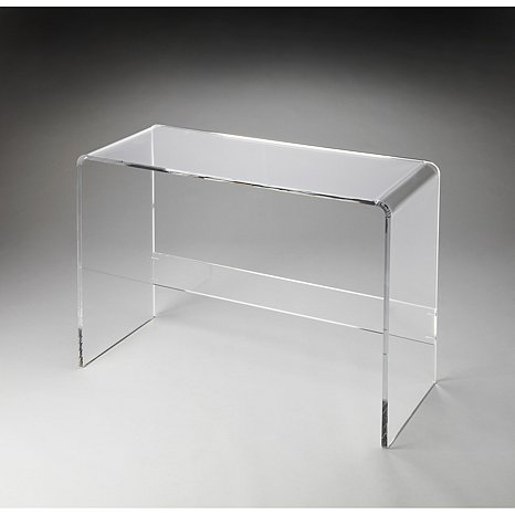 Unique Cheap Clear Acrylic Console Tables With Shelf   Buy Cheap Acrylic  Console Tables,Console Table,Console Table Acrylic Product On Alibaba.com