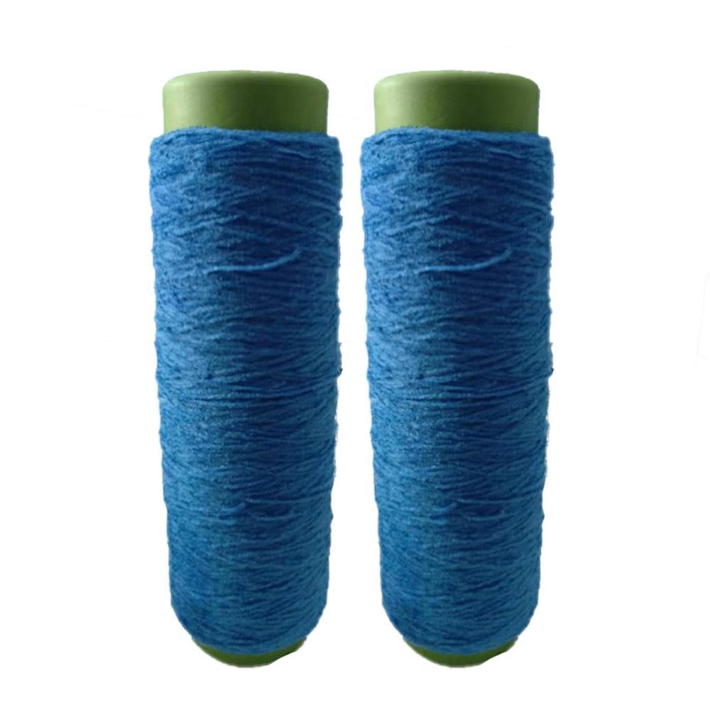 Charmkey factory price 100% polyester cone yarn for machine knitting