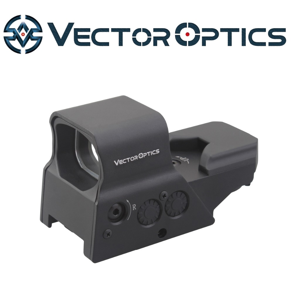 US Design Omega Tactical Combat Red Dot Sight with 8 Reticles QD Mount Solar Power фото