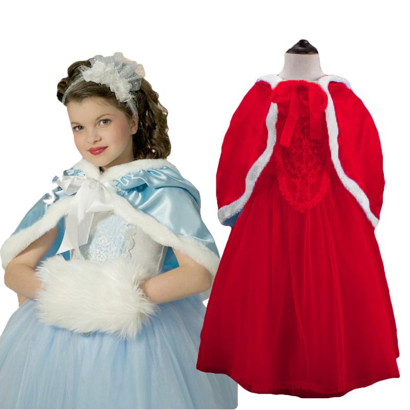 2016 new 1pc Elsa dress Girl Princess Dress Summer long sleeve diamond dress Elsa Costume Christmas