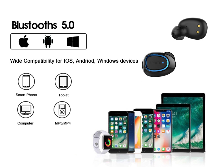 2021 wireless bluetooth headphones earbuds tws ture stereo with high sound quality