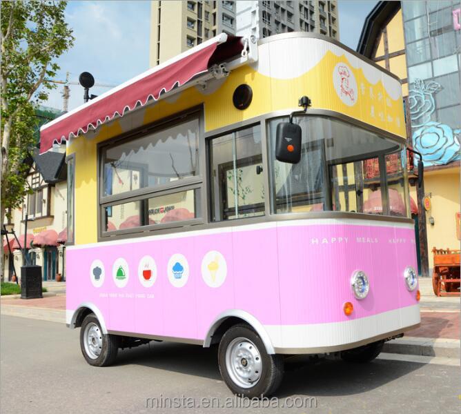 Venta caliente eléctrico cocina móvil camión autobús remolque coche ...