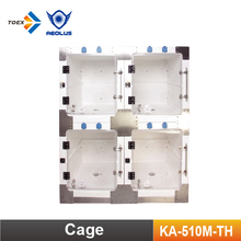 KA-510M-TH Veterinary Therapy Oxygen Dog Cage Fiberglass Dog Kennel Pet Products