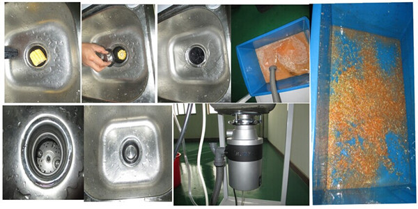 Home Appliances Kitchen Garbage Disposal / Sink Food Digester With Overload  Protector OEM Manufacturer