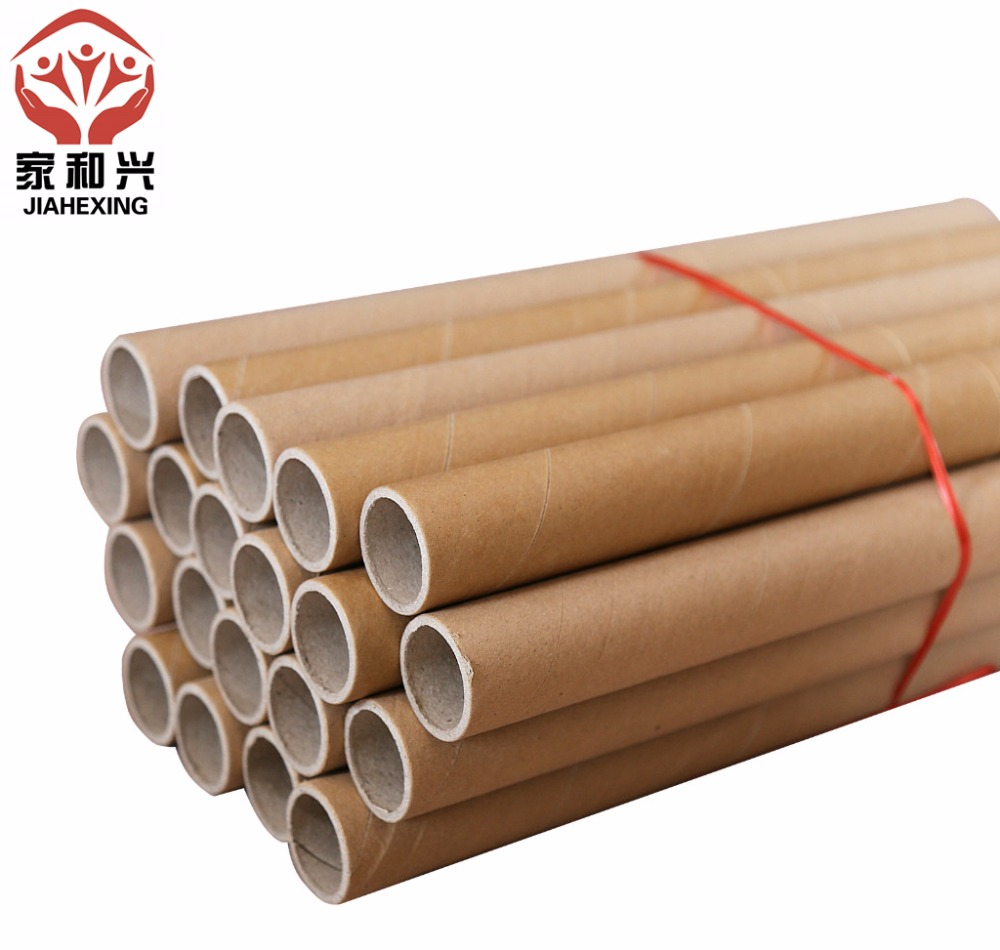 Customized Mini Diameter Round Kraft Paper Cardboard Tube Rigid Paper Core