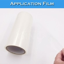 SINO Transfer Tape (Without Base Paper) Clear Adhesive Application