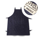 High quality waiter blue linen apron polyester apron