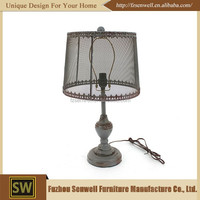 Hotel Bedroom Decoration Antique Portable Luminaire Table Lamp