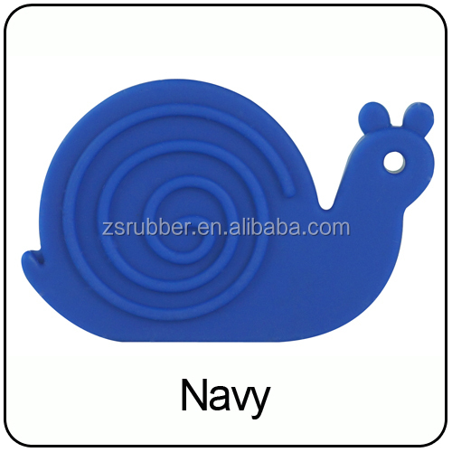 2019 China Import Toys Baby Teething Animal Snail Baby Teether Toys