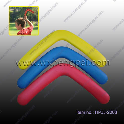 Custom promotional plastic boomerang toy