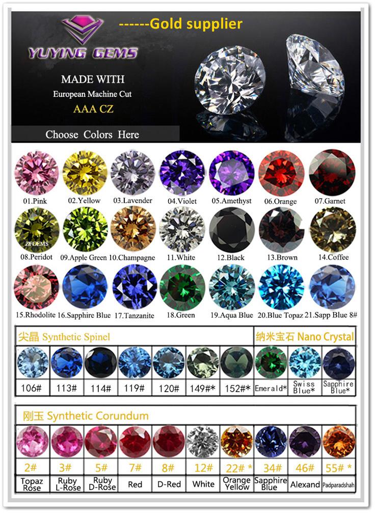 Precious Stone Bulk Cut Gemstones Loose Diamond Orange Cubic ...