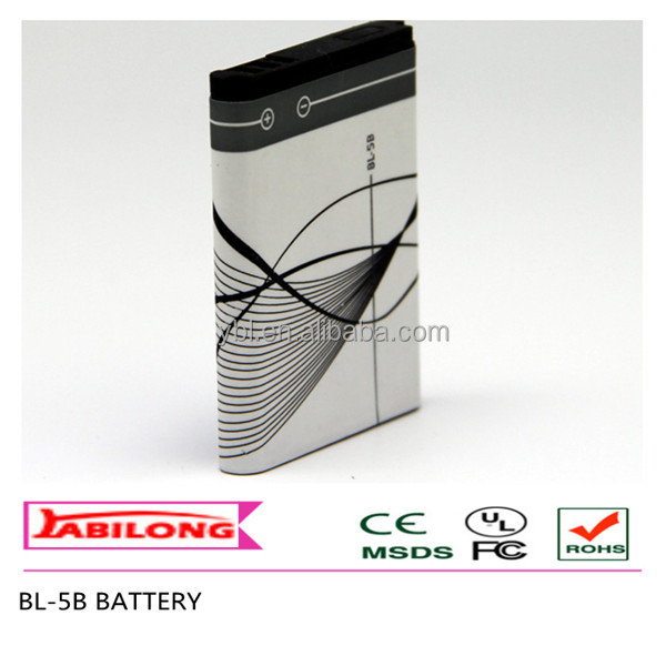 bl-5b 890mAh cell phone battery For NOKIA 5300 5320 6120c 7360 6120ci 3220 3230 5070 5140 5140i 5200 5208 5320XM 5500 6020 6021