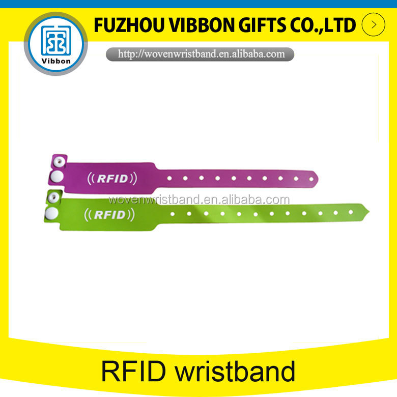 HF RFID Wristband for hospital patients management